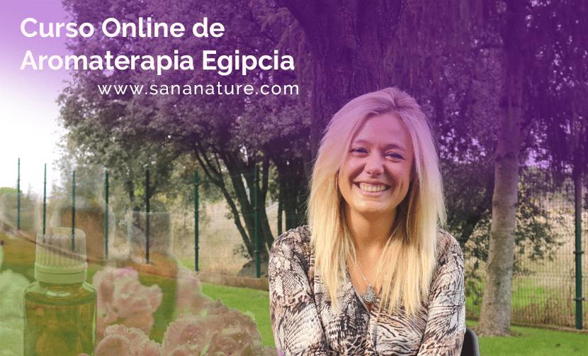 Curso de Aromaterapia Egipcia Online