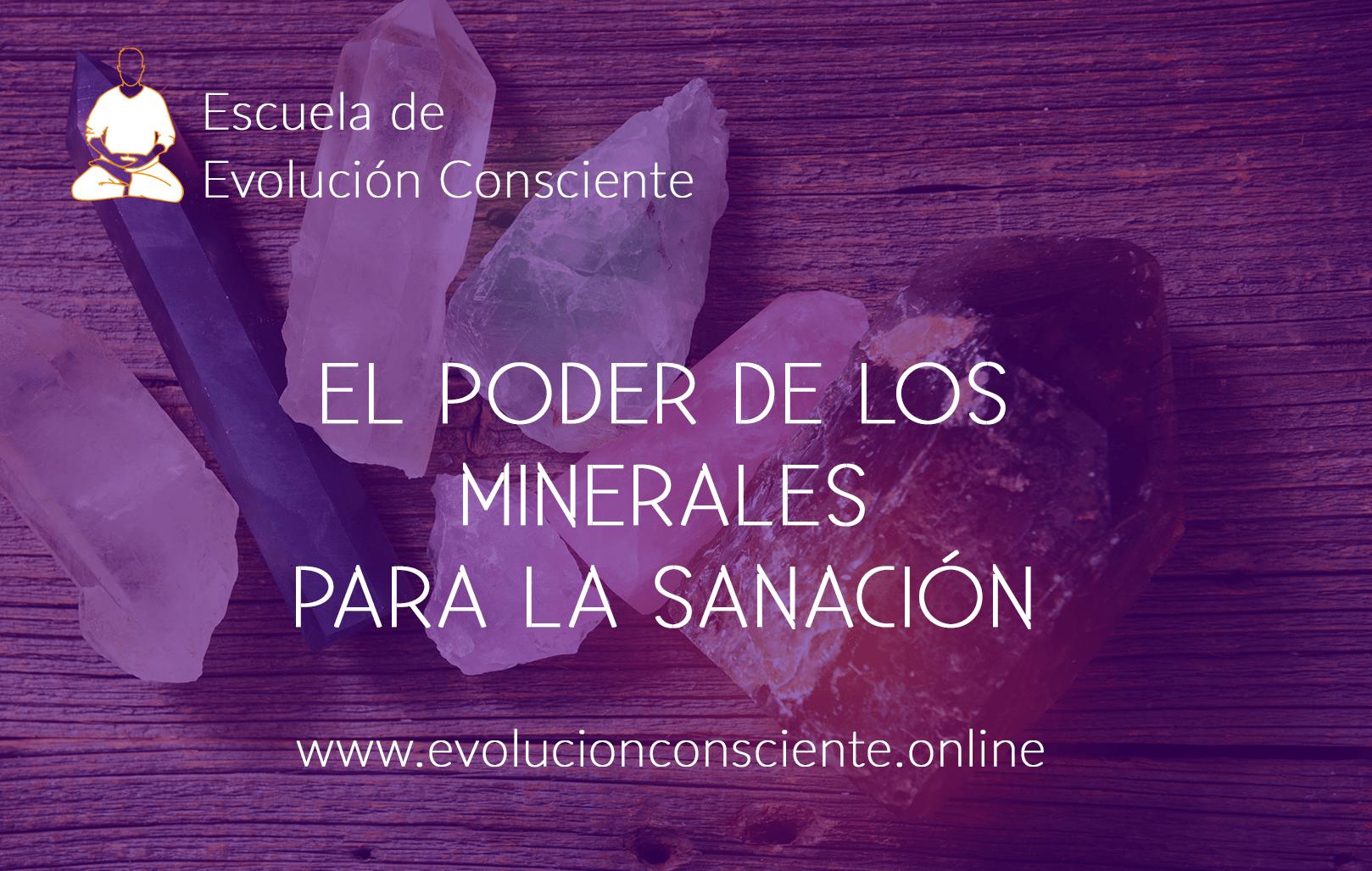 PODER DE LOS MINERALES PARA LA SANACION