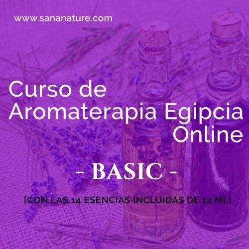 Curso Online de Aromaterapia Egipcia
