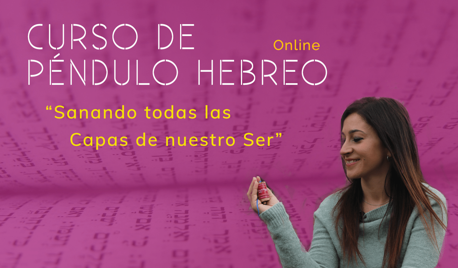 Curso de Péndulo Hebreo Online